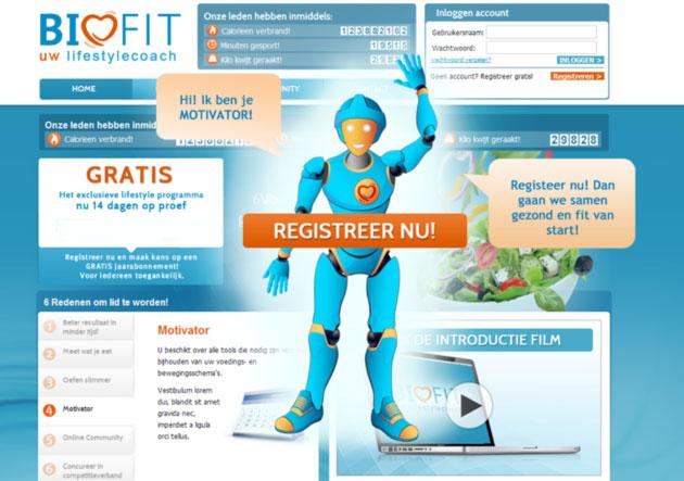 Schermafbeelding Biofit